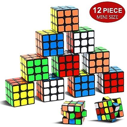 Amazon.com: Juego de puzzle para fiesta, 12 unidades, mini ...