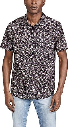 RVCA Camisa con botones Bellflower para hombre: Amazon.es: Ropa y accesorios