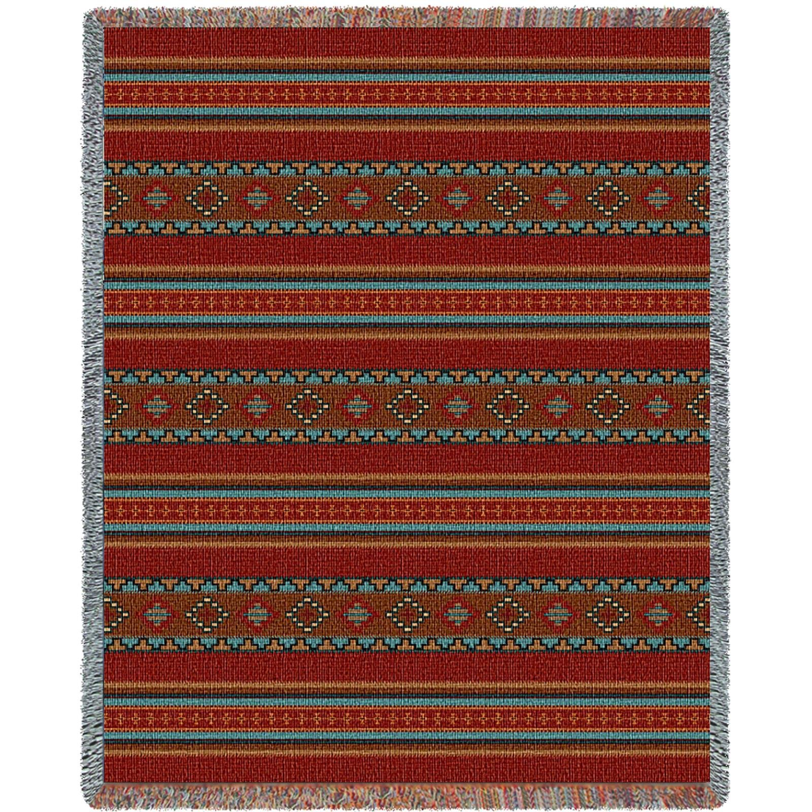 Pure Country 5381-T Saddle blanket Red Blanket Tapestry Throw