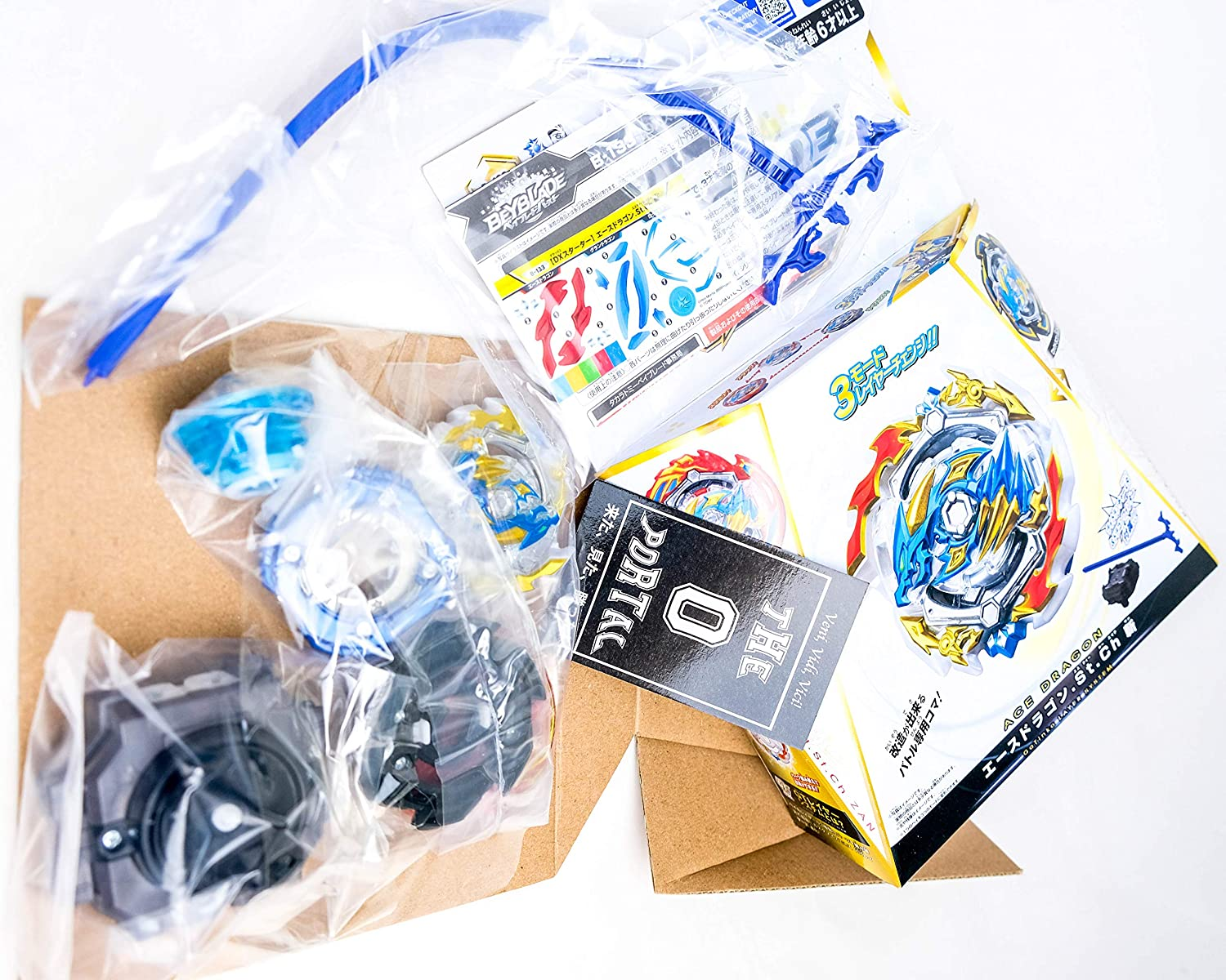 Beyblade Burst GT B-133 Ace Dragon Sting Charge DX Set w// Rock n Grand Layer THEPORTAL0