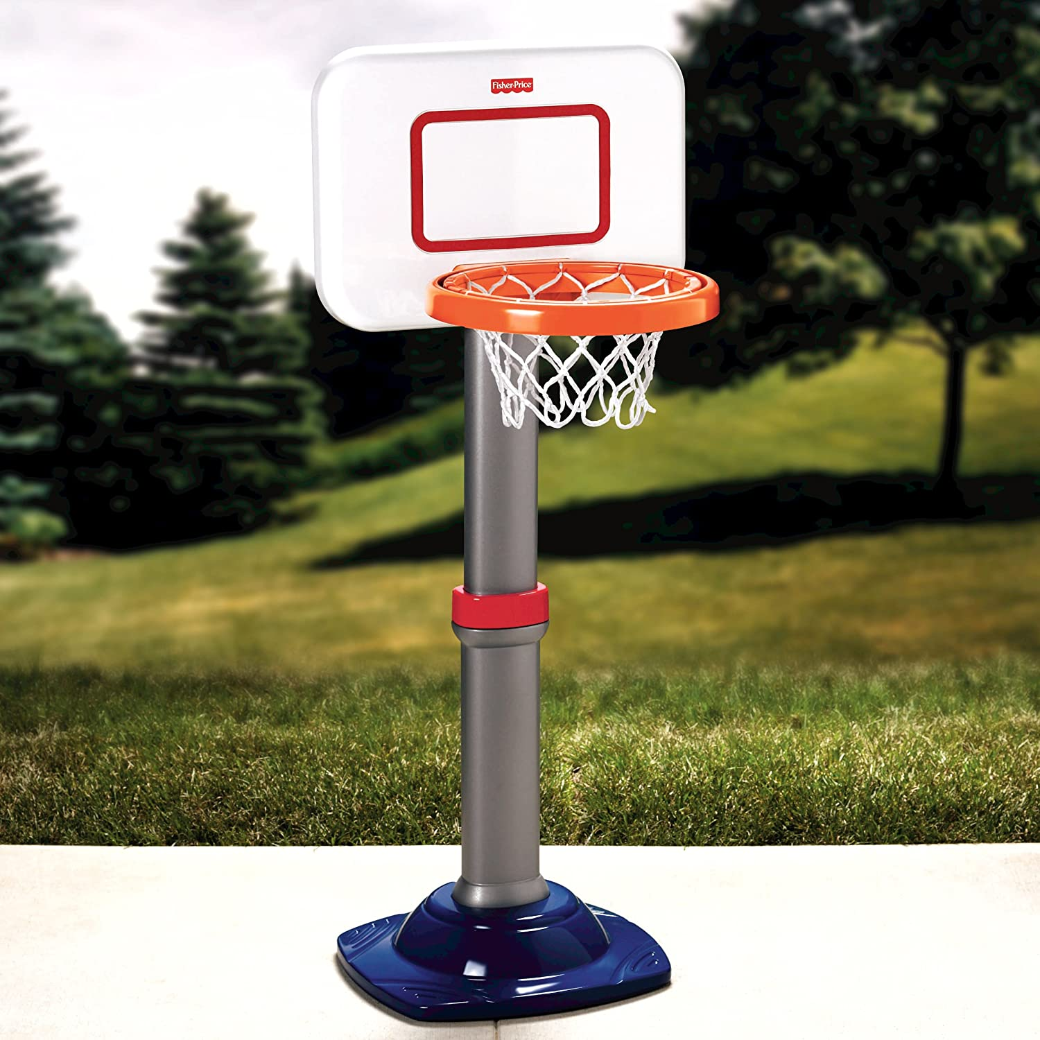 Image result for Fisher-Price I Can Play Basketball Set