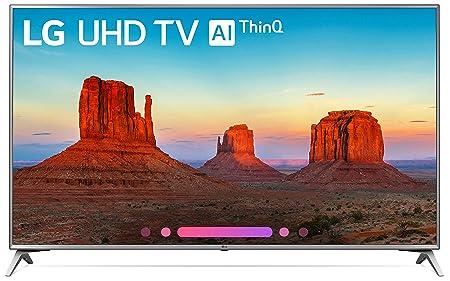 LG Electronics 70UK6570 70-Inch 4K Ultra HD Smart LED TV 2018 Model