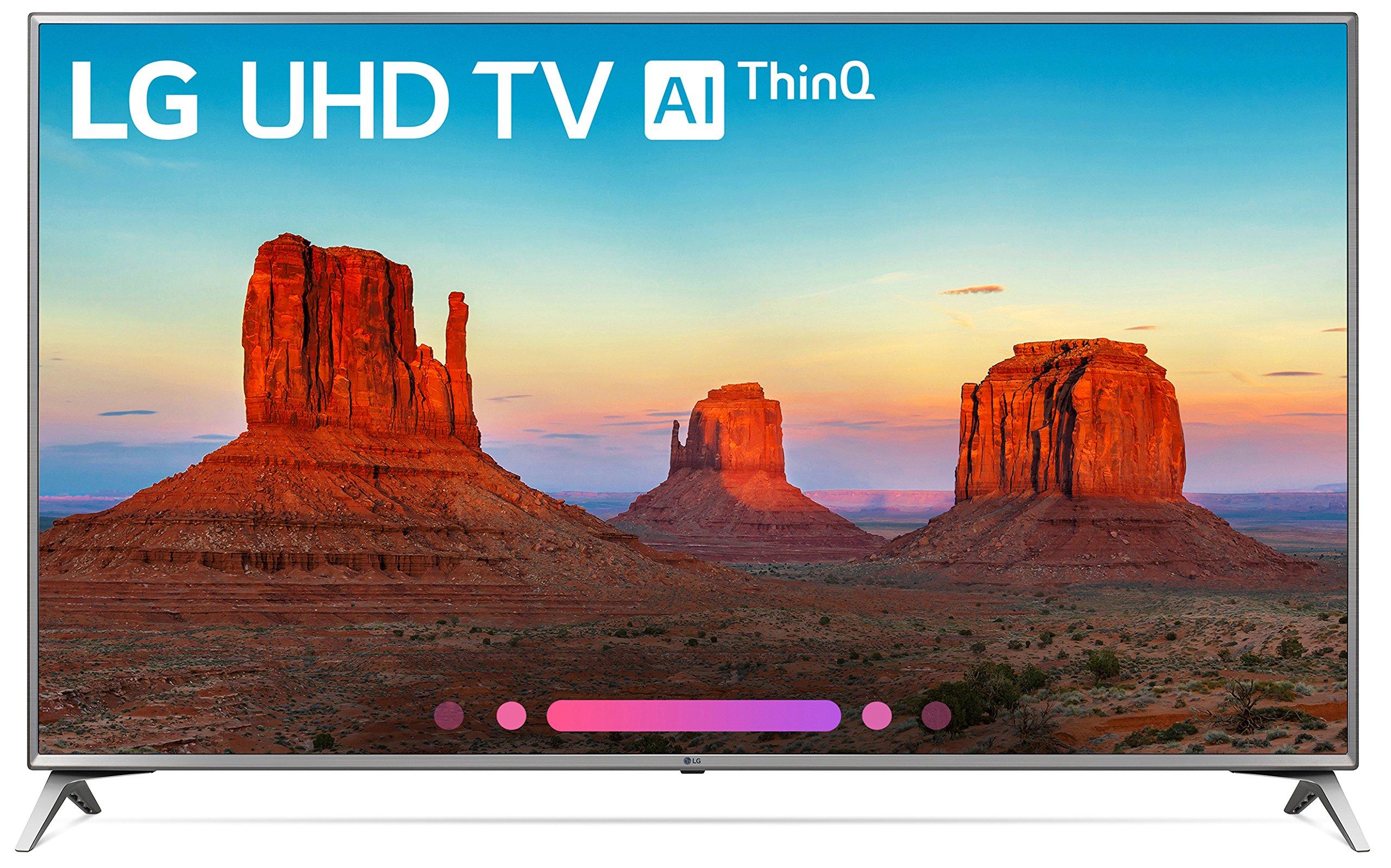 LG Electronics 70UK6570 70-Inch 4K Ultra HD Smart LED TV (2018 Model) by LG