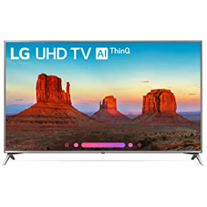 LG Electronics 70UK6570 70-Inch 4K Ultra HD Smart LED TV (2018 Model)