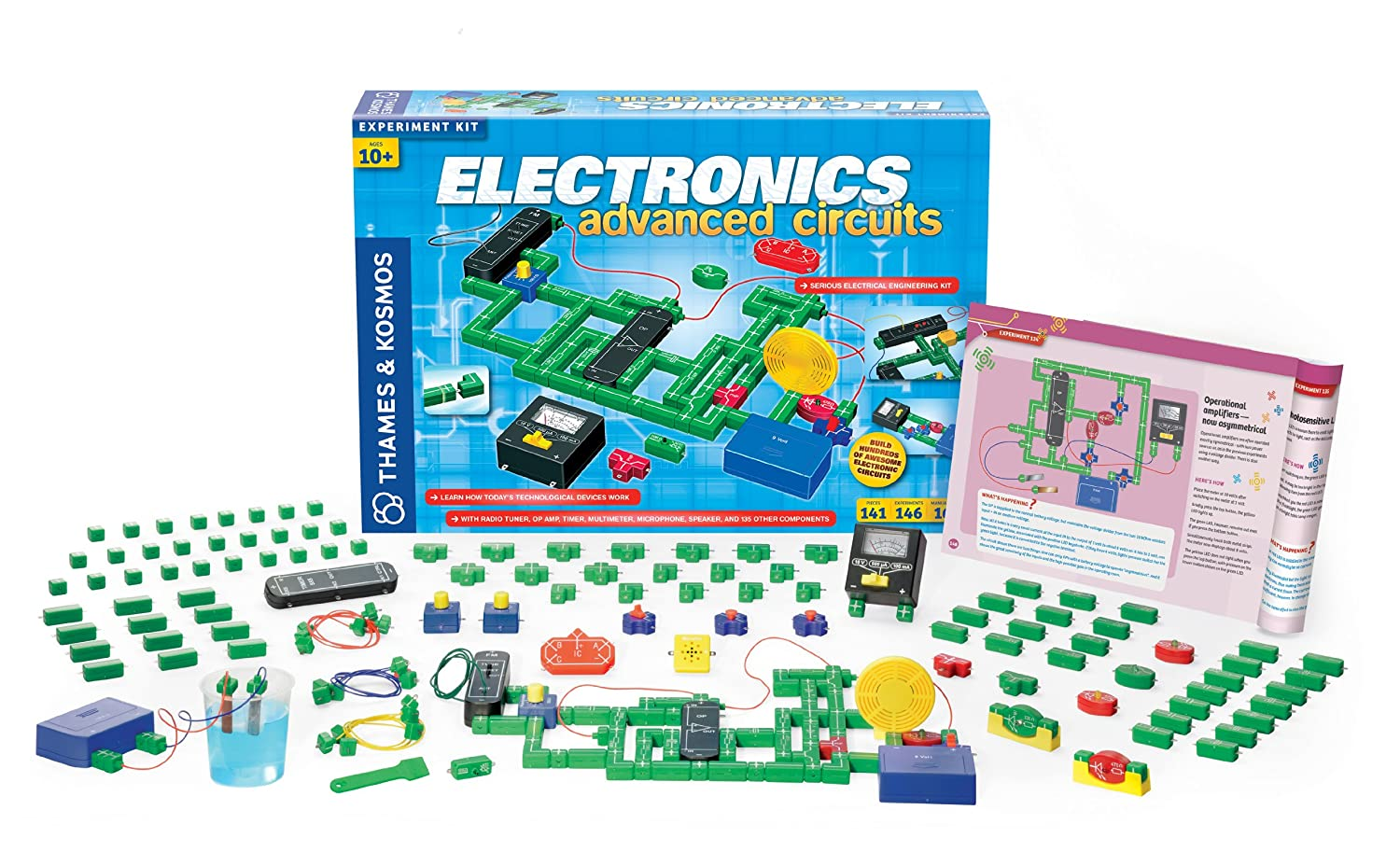 Thames And Kosmos Electronics Advanced Circuit Kit Toys As Complicated I Thought This Would Be Is Using The Games