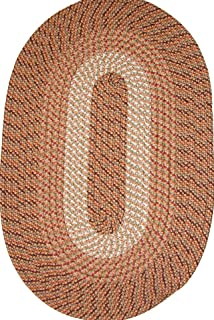"product image for Constitution Rugs Plymouth 20"" x 30"" Braided Rug in Straw"