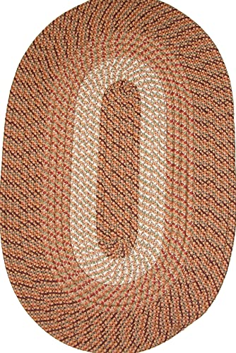 Plymouth 5 x 8 Braided Rug in Straw