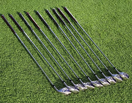 MAZEL Single Length Golf Club Irons Set 4-SW 9 Pieces