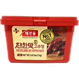 CJ Haechandle Gochujang, Hot Pepper Paste (Korean Spicy Red Chile Paste) (6.6 Pound)