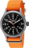 Timex Men's Quartz Watch Timex® Expedition® Scout™ with Leather Strap