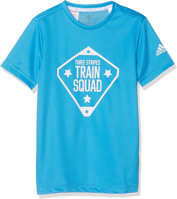 creciendo código Morse difícil  Amazon.com: adidas Kids Young Boys Tshirt Squad Tee Training Fashion  Lifestyle: Clothing