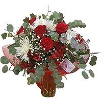 REGALAUNAFLOR-Ramo de flores pasion-FLORES FRESCAS-ENTREGA EN 24 HORAS DE MARTES A SABADO.