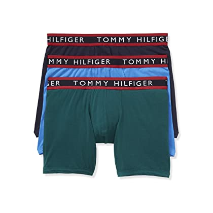 4cbed04899a4e6 comTommy Hilfiger Men's Underwear 3 Pack Cotton Stretch Boxer Briefs |  Amazon