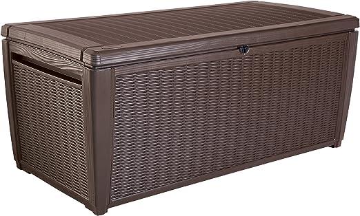 Keter Sumatra 135 L cubierta caja: Amazon.es: Jardín