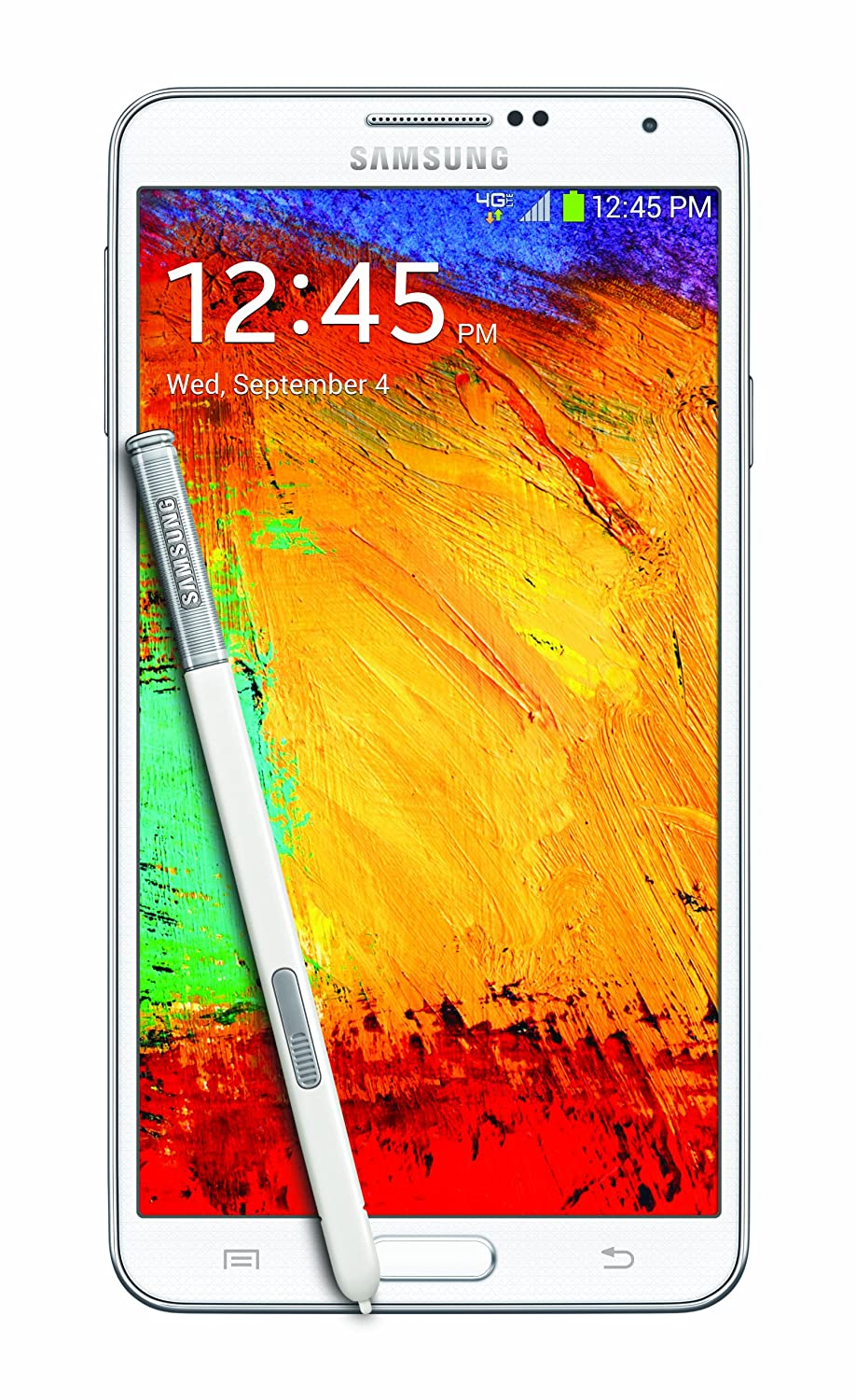 Amazon Samsung Galaxy Note 3 White 32GB Verizon Wireless