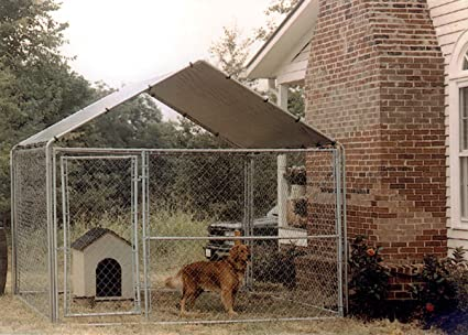 Amazon com : King Canopy Pup Tent Canopy : Dog Kennel