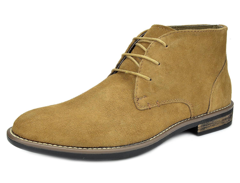 06a9d52d187b5 Amazon.com | Bruno Marc Men's URBAN-01 Suede Leather Lace Up Oxfords Desert  Boots | Boots