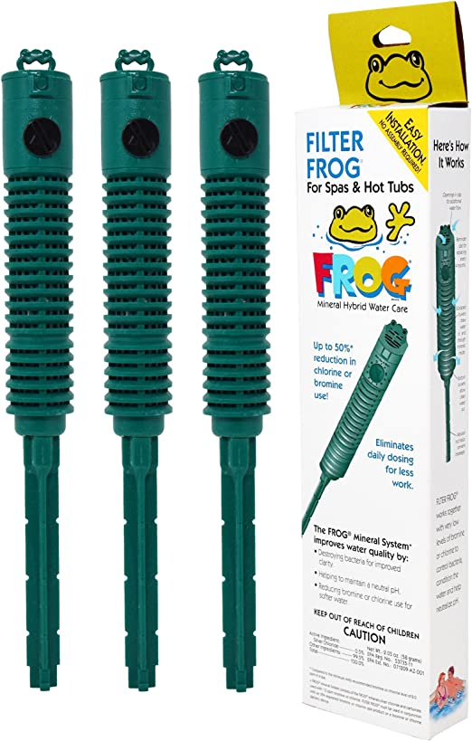 King Technology SPA Frog In-Filter – Pack de 3 Unidades de Suministro de año con termómetro Flotante para Piscina: Amazon.es: Jardín