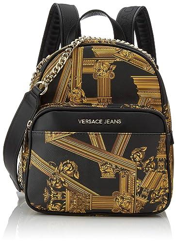 fcf334daf1 Versace Jeans Bag Borsa a zainetto Donna, (Nero), 13x25,5x22 cm (W x ...