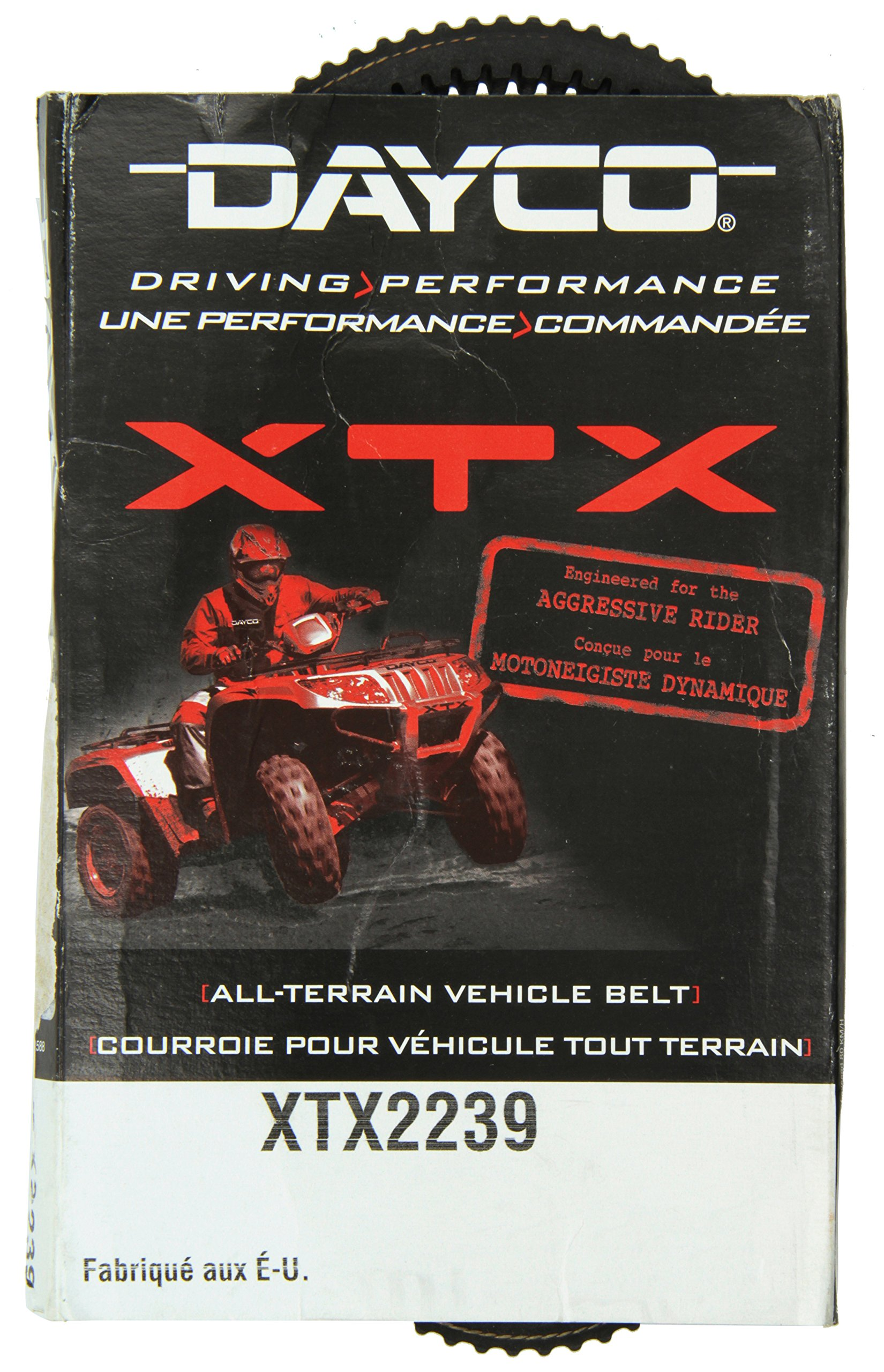 Dayco XTX2239 XTX Extreme Torque ATV/UTV Drive Belt