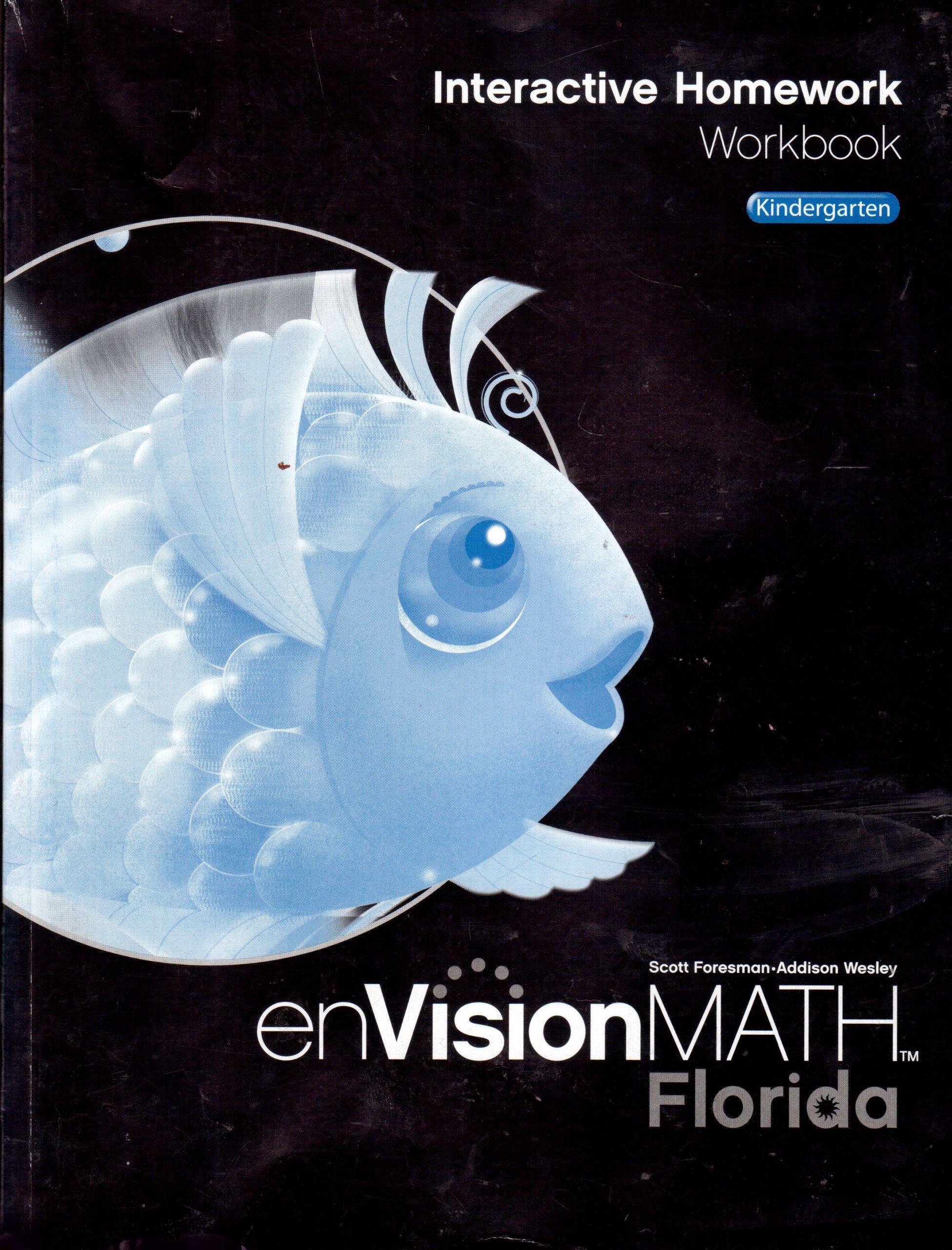EnVisionMath: Interactive Homework Workbook, Florida, Kindergarten ...