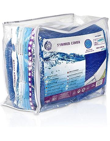 Gre CPROV500 - Cobertor de Verano para Piscina en Forma de Ocho de 500 x 340