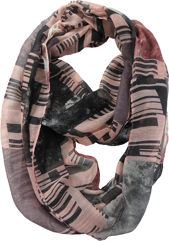 geormatric  retro infinity scarf infinity loop scarves