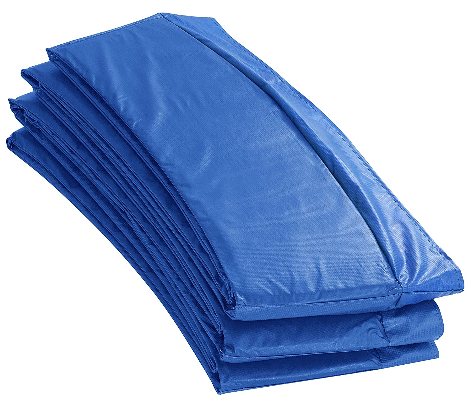 16' Super Trampoline Safety Pad (Spring Cover) Fits for 16 FT. Round Trampoline Frames. 10 wide - Blue Upper Bounce