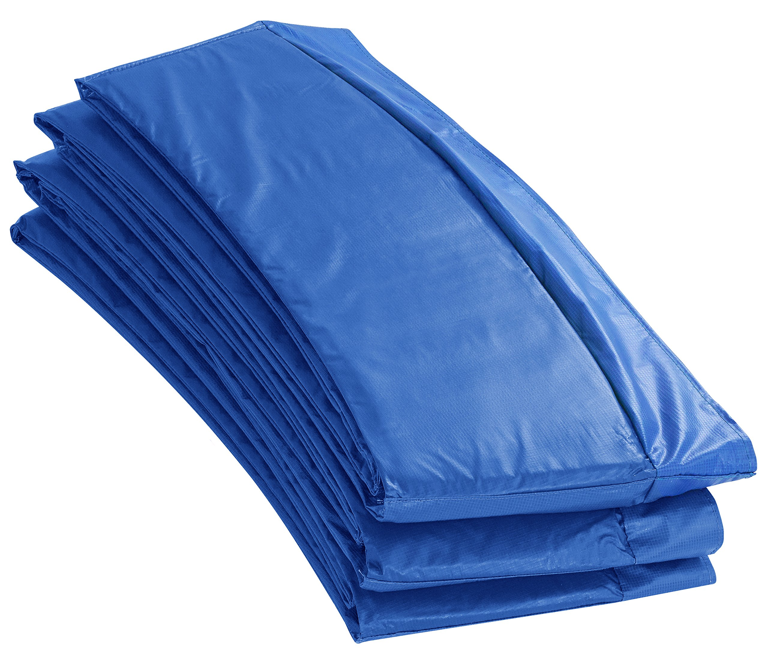 Upper Bounce 8-Feet Super Trampoline Safety Pad (Spring Cover) for 8-Feet Round Trampoline Frames, 10-Inch, Blue by Upper Bounce