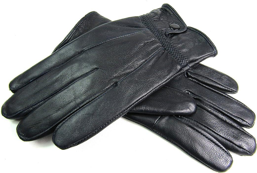 Damen Premium Qualität Echtes Weiches Leder Handschuhe Voll Gefüttert Warm