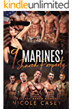 Nine Marines' Shared Property: A Reverse Harem Romance (Love by Numbers Book 8)
