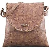 Voaka Women Designer Sling Bag ( Available in Brown, Tan, Peach, Pink, Sand & Beige )