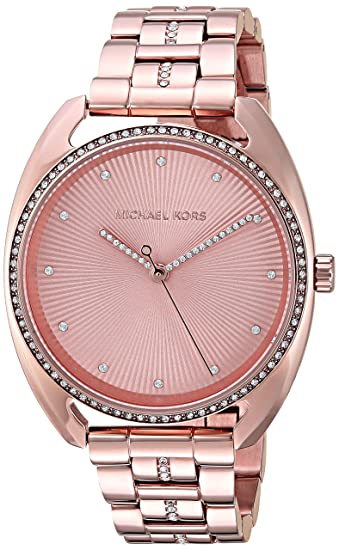 b71259de84b14 Buy Michael Kors Libby Analog Gold Dial Women s Watch-MK3677 Online at Low  Prices in India - Amazon.in