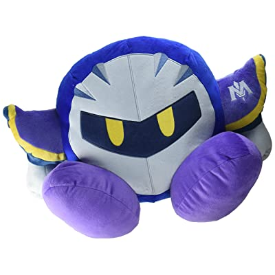"Little Buddy Kirby of The Stars 1466 Meta Knight Cushion Pillow Stuffed Plush 13"": Toys & Games"