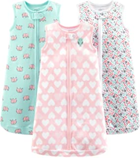 9813bf37629d Amazon.com  Simple Joys by Carter s Baby 3-Pack Cotton Sleeveless ...
