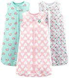Simple Joys by Carter's Baby Girls' 3-Pack Cotton