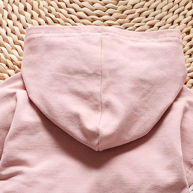 Conjuntos De Chicas Tapas Encapuchadas De La Camiseta De La Raya Internet Conjunto De Ropa para Ni/ñas Pantalones