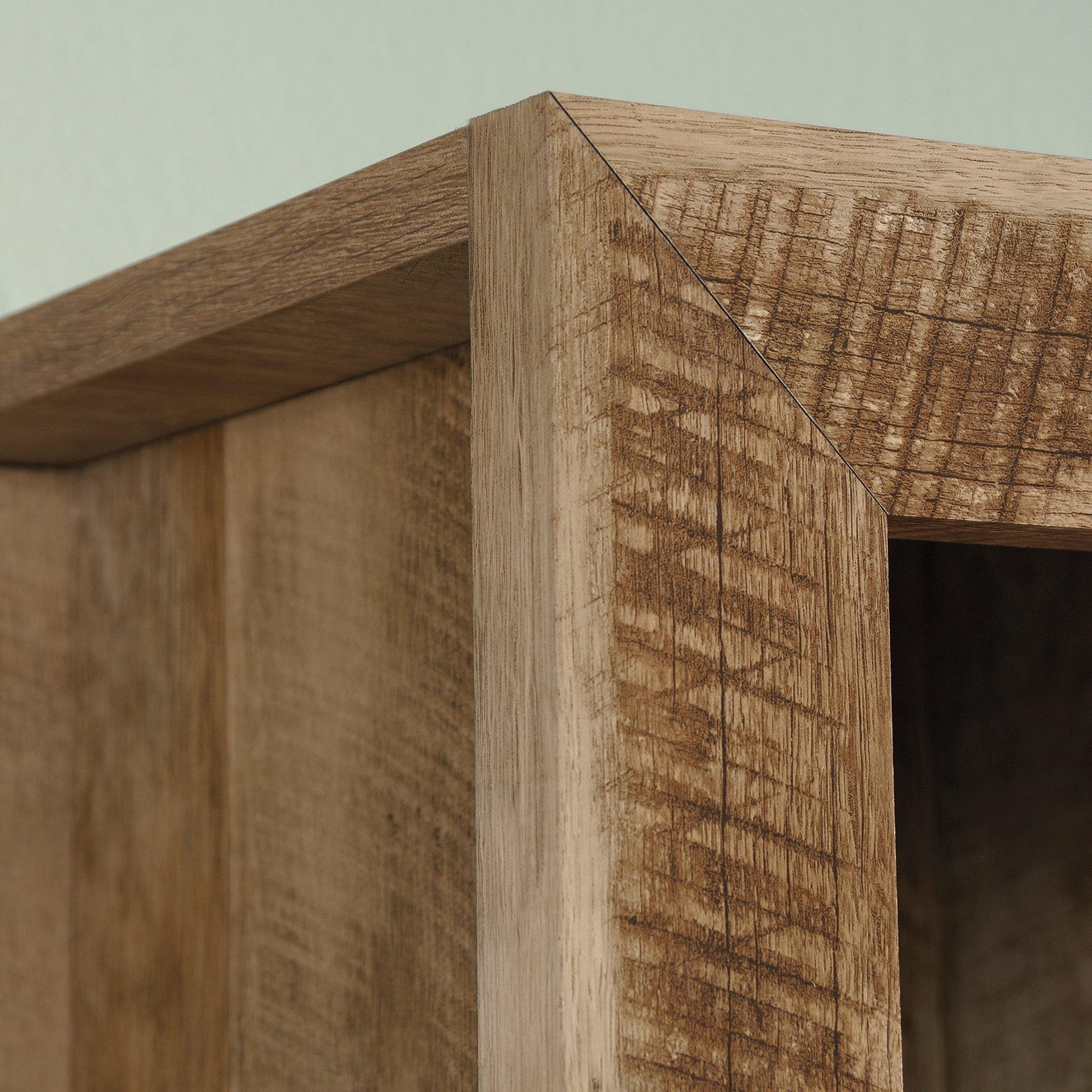Sauder 420409 Dakota Pass Library with Doors, L: 33.82'' x W: 12.52'' x H: 71.10'', Craftsman Oak Finish by Sauder (Image #5)