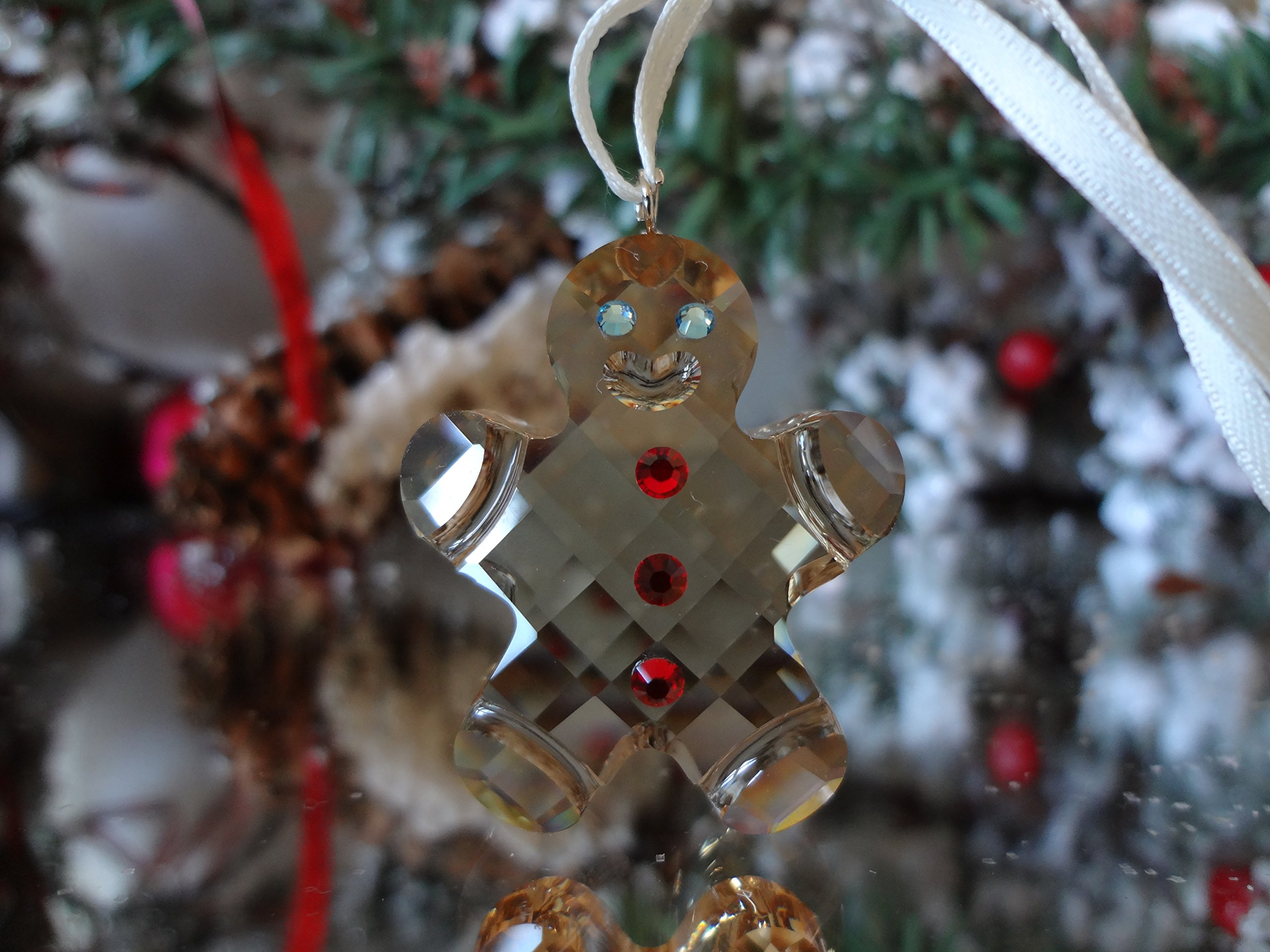 Swarovski Georgie the Original Gingerbread Man Christmas Ornament