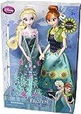 Disney Frozen Fever Anna And Elsa Dolls Summer Solstice Gift Set 12