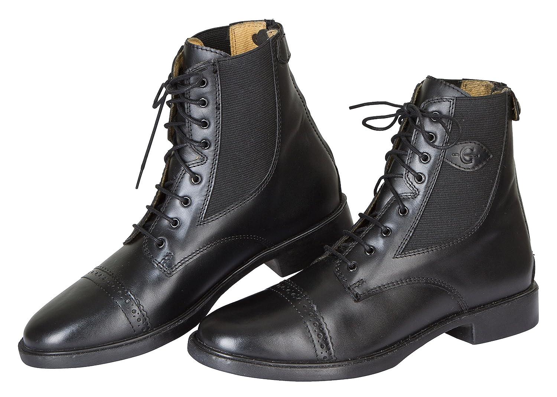 Kerbl Reitette Monaco Glattleder - Polainas/chaparreras de hípica, color negro, talla 39 324569