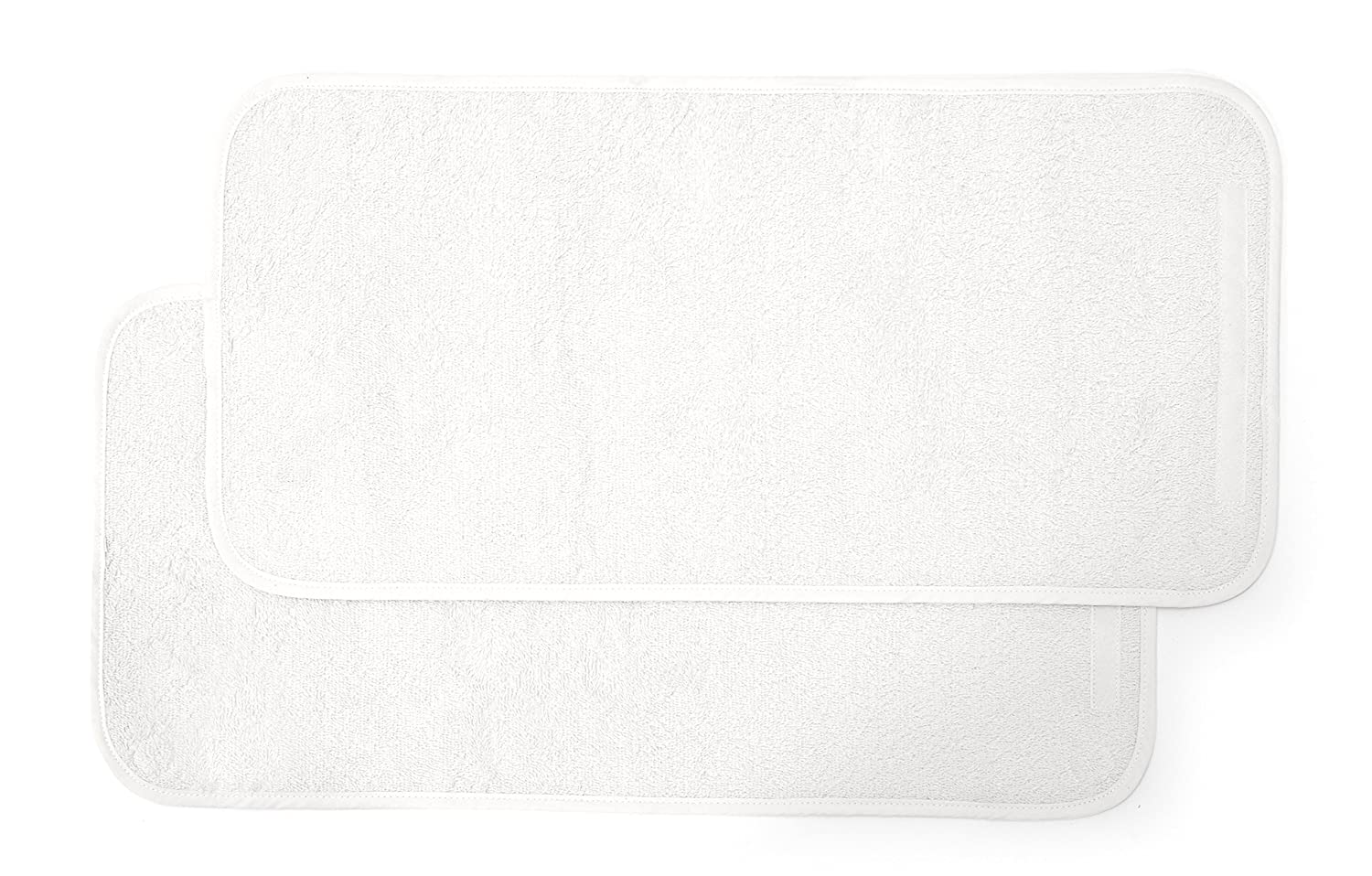 Mamas & Papas Luxury Super Soft Nappy Changing Mattress Liners - Cream Pack of Two 566303400