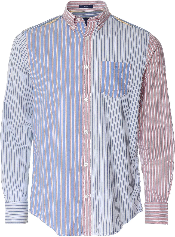 GANT Camisa Oxford de ajuste regular para hombre, diseño ...