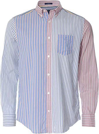 GANT Camisa Oxford de ajuste regular para hombre, diseño de ...