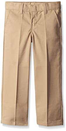 a8198cf620 Dickies Boys' Flex Waist Flat Front Pant