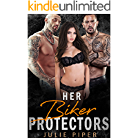 Her Biker Protectors: MMF Menage Romance book cover