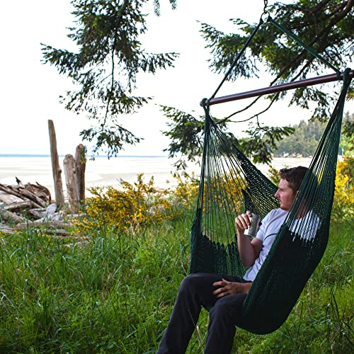 Wentworth Deluxe Steel Frame 100 Polyester-filled Fabric Hammock With Stand and Magazine Bag