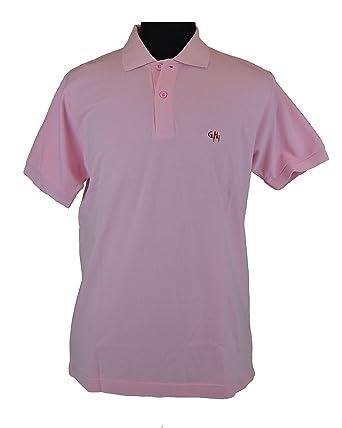 Gy Henry - Polo - para hombre rosa rosa Large: Amazon.es: Ropa y ...