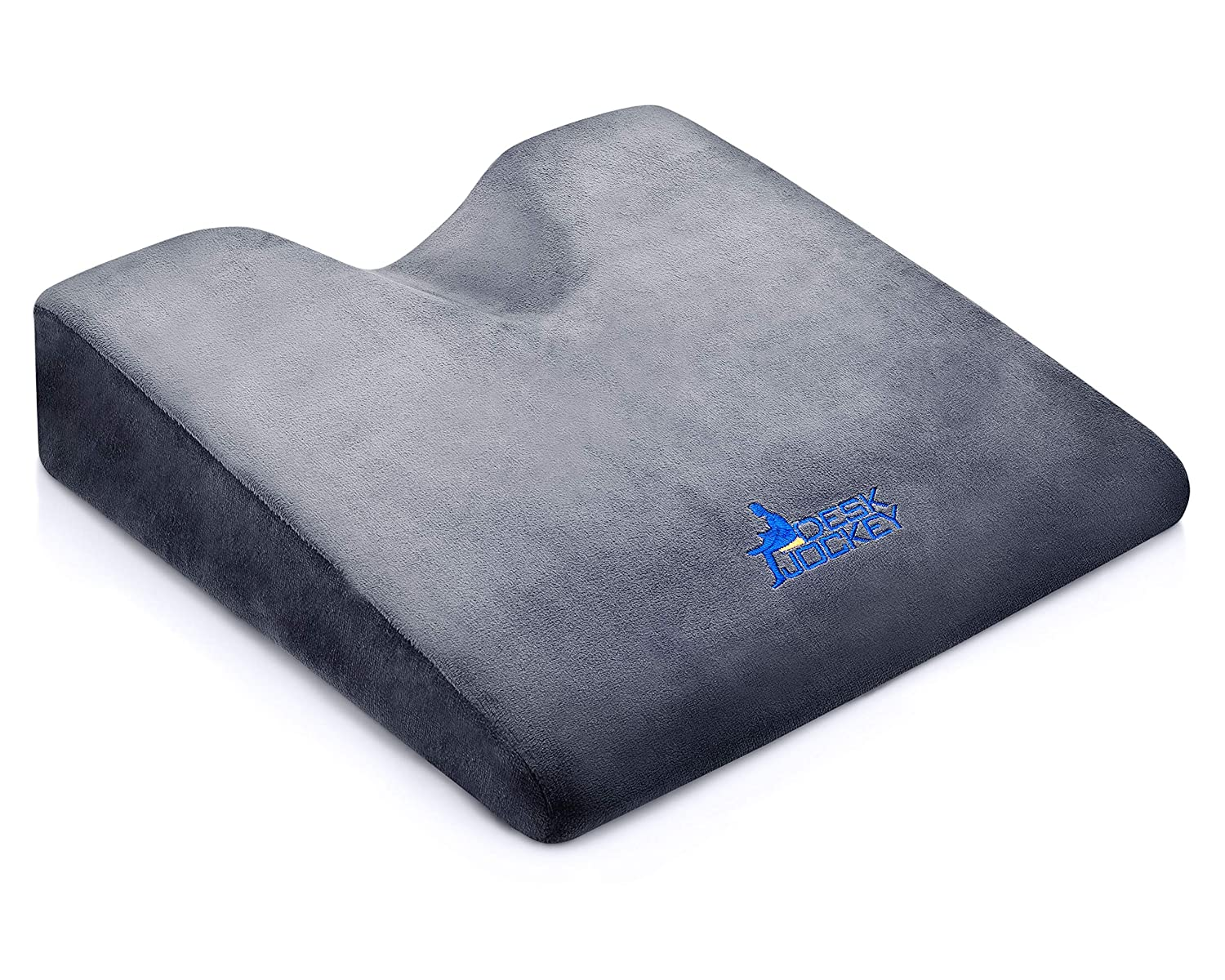 Desk Jockey Wedge pad Car Seat Cushion for back pain