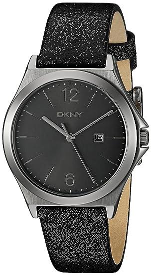 DKNY mujer NY2373 Parsons reloj de acero inoxidable con banda de brillantes